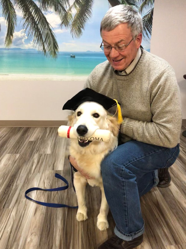 Pet Graduating from Training